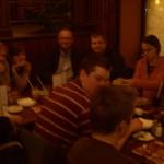 Dinner at TGIF Ukraine