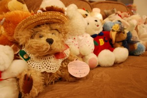 Some of the Teddy Bears from WPA Ladies